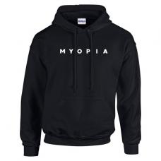 Myopia Hoodie - Black