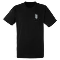 Myopia T-Shirt Small Logo - Black
